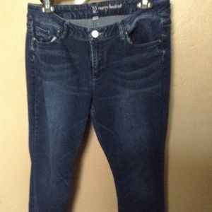 Ladies NY&C curvy boot cut jeans